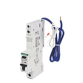 Crabtree 32A 30mA 1 Pole + Neutral Type A C Curve RCBO