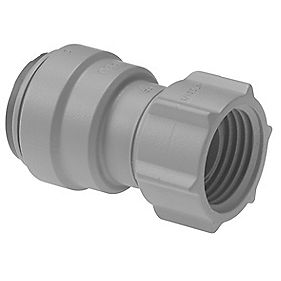 JG Speedfit PSE3201DGP Female Tap Connector Grey 15mm x ½""