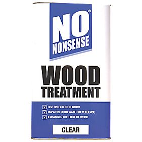No Nonsense Wood Treatment Clear 5Ltr
