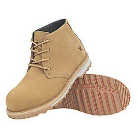 Scruffs Chukka Safety Boots Tan Size 9