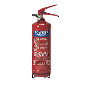 Firechief Fire Extinguisher Dry Powder 2kg