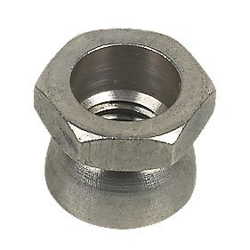 A2 Stainless Steel Security Shear Nuts M12 x 19mm Pack of 10