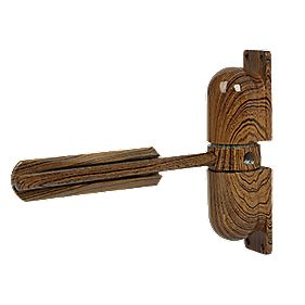 Sterling 3627 Surface Mounted Door Closer Traditional Wood Effect