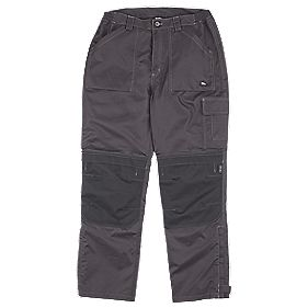 "Hyena K2 Cordura Trousers Waterproof Black Large 34-40"" W "" L"