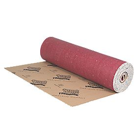 Softwalk Polyurethane Foam Carpet Underlay Red 11 x 1.37m