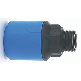 JG Speedfit UG102B MDPE Male Adaptor 25mm x ¾""