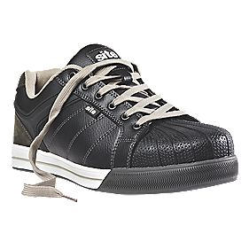 Site Shale Safety Trainers Black Size 8