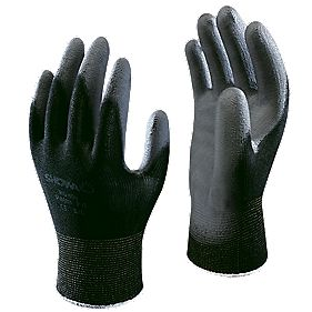 Showa Best B0500 General Handling Palm Fit Gloves Black Large