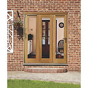 Jeld-Wen Wellington Slide & Fold Patio Door Set Unfinished 2394 x 2094mm