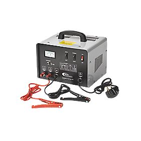 Ring Automotive 30A Metal Cased Bench Charger with 150A Jump Starter