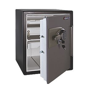 Sentry Safe Ltr Water Resist. Electronic Fire Safe Lge 472 x 491 x 603mm