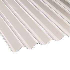 Corolux Corrugated PVC Sheet Clear 762 x 3050 x 1.1mm