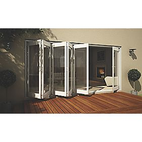 Jeld-Wen Wellington Slide & Fold Patio Door Set White 4194 x 2094mm