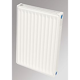 Flomasta Type 21 Double Panel Single Convector Radiator White 600 x 400mm