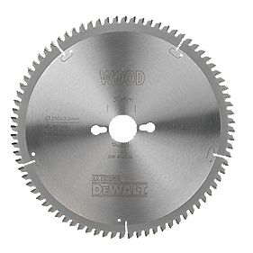 DeWalt DT4287-QZ Extreme Circular Saw Blade Stationary 250 x 30mm 80T
