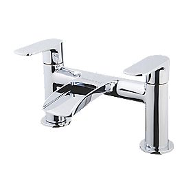Moretti Cascata Bath Mixer Bathroom Tap Chrome