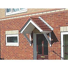 Arran Door Canopy Grey 1440 x 750 x 830mm
