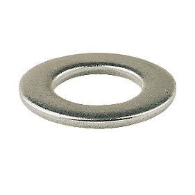 Flat Washers A4 Stainless Steel M6 Pack of 100