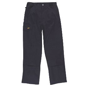 "Site Collie Cargo Trousers Navy W 36"" L 31"""