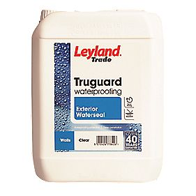 Leyland Trade Truguard Exterior Waterseal Clear 5ltr Waterproofing Agents