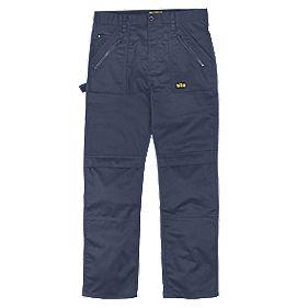 "Site Beagle Trousers Navy 38"" W 32"" L"
