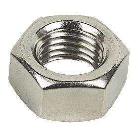Hex Nuts A2 Stainless Steel M20 Pack of 10