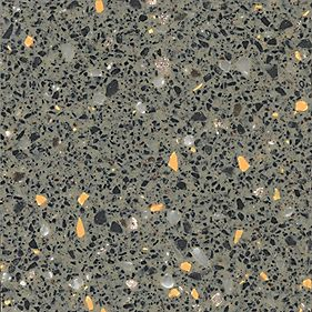Apollo Magna Gravel Grey Worktop with 1½ S/Steel Sink 1830 x 600 x 34mm