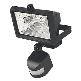Black PIR Photocell 120W 2216Lm