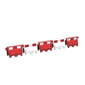 Roadbloc Barrier Red Pack of 9