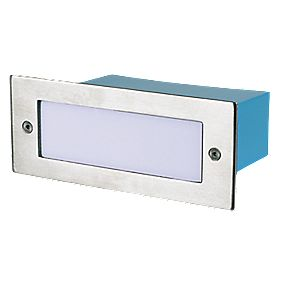 Halolite LED Brick Light Stainless Steel W