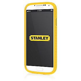 Stanley Technician Galaxy S4 Mobile Phone Case & Holster Black & Yellow