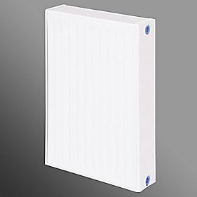 Flomasta Type 22 Double Panel Double Convector Radiator White 600 x 400mm
