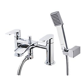 Moretti Cascata Bath / Shower Mixer Bathroom Tap Chrome