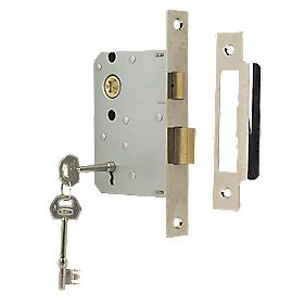 "ERA 3-Lever Mortice Sashlock Chrome Effect 3"" / 76mm"
