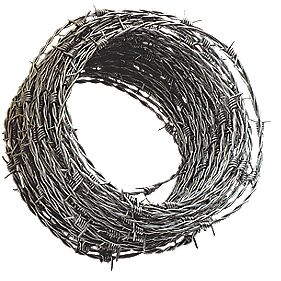 Apollo mm Steel Barbed Wire x 50m