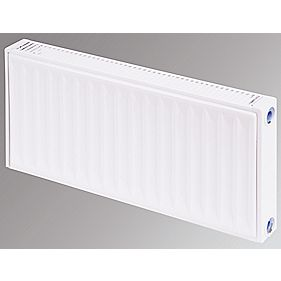Flomasta Type 11 Single Panel Single Convector Radiator White 300 x 800mm