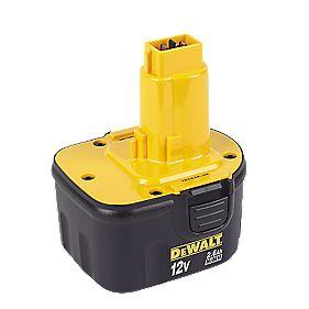 DeWalt DE9501 Ni MH Battery 12V 2 6Ah