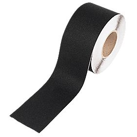No Nonsense Anti-Slip Black Hazard Tape 100mm x 18m