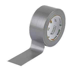 Duck Ultimate Cloth Tape 50 Mesh Silver 50mm x 25m
