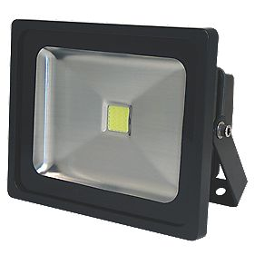 Unbranded LED Floodlight 30W Black