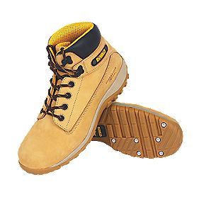 DeWalt Hammer Safety Boots Wheat Size 7