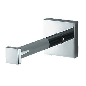 Aqualux Haceka Mezzo Spare Toilet Roll Holder Chrome 53 x 53 x 130mm