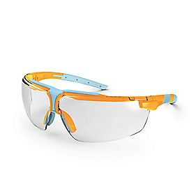 Uvex I-3 Specs Clear Orange Light Blue