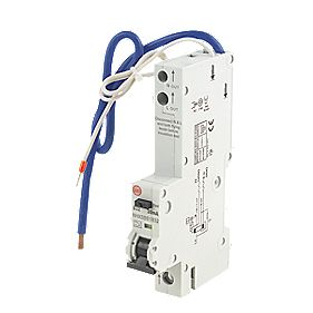 Wylex 32A 30mA Single Pole Type B Curve RCBO