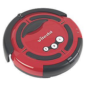 B and Q Robot Cleaner 19-25W Ltr Cordless Cleaning Robot 14.4V