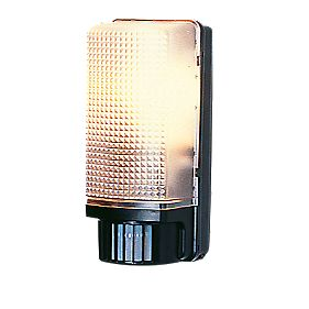 IQ-BH-1-PR-B Rectagular Bulkhead with PIR Black 60W