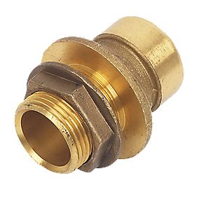 Conex Push-Fit 350 Tank Connector 22mmx¾""