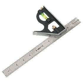 Forge Steel Heavy Duty Combination Square 12""