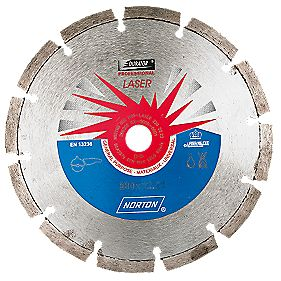Norton Red Diamond Blade Hard 300x20mm