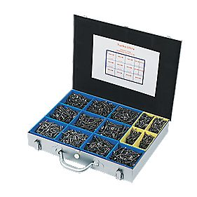Turbo Ultra Trade Case Double-Self-Countersunk Pack of 3400